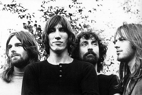 Pink Floyd, from left: Rick Wright, Roger Waters, Nick Mason and David Gilmour